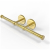 Allied Brass P1000-24-2-PB Prestige Skyline Collection Double Roll Toilet Tissue Holder, Polished Brass