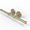 Allied Brass P1000-24-2-SBR Prestige Skyline Collection Double Roll Toilet Tissue Holder, Satin Brass