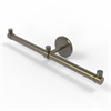 Allied Brass P1000-HTB-2-ABR Prestige Skyline Collection 2 Arm Guest Towel Holder, Antique Brass