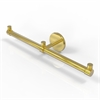 Allied Brass P1000-HTB-2-PB Prestige Skyline Collection 2 Arm Guest Towel Holder, Polished Brass