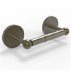 Allied Brass P1024-ABR Prestige Skyline Collection 2 Post Toilet Tissue Holder, Antique Brass
