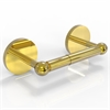 Allied Brass P1024-UNL Prestige Skyline Collection 2 Post Toilet Tissue Holder, Unlacquered Brass