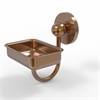 Allied Brass P1032-BBR Prestige Skyline Collection Wall Mounted Soap Dish, Brushed Bronze