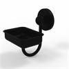 P1032-BKM Prestige Skyline Collection Wall Mounted Soap Dish, Matte Black