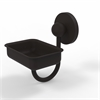 Allied Brass P1032-ORB Prestige Skyline Collection Wall Mounted Soap Dish, Oil Rubbed Bronze