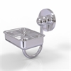 Allied Brass P1032-PC Prestige Skyline Collection Wall Mounted Soap Dish, Polished Chrome