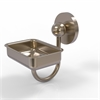 Allied Brass P1032-PEW Prestige Skyline Collection Wall Mounted Soap Dish, Antique Pewter