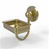 Allied Brass P1032-SBR Prestige Skyline Collection Wall Mounted Soap Dish, Satin Brass