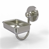 Allied Brass P1032-SN Prestige Skyline Collection Wall Mounted Soap Dish, Satin Nickel