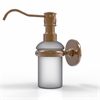 Allied Brass P1060-BBR Prestige Skyline Collection Wall Mounted Soap Dispenser, Brushed Bronze