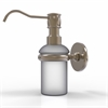Allied Brass P1060-PEW Prestige Skyline Collection Wall Mounted Soap Dispenser, Antique Pewter