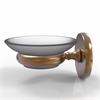 Allied Brass P1062-BBR Prestige Skyline Collection Wall Mounted Soap Dish, Brushed Bronze