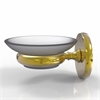 Allied Brass P1062-UNL Prestige Skyline Collection Wall Mounted Soap Dish, Unlacquered Brass