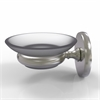 Allied Brass P1062-SN Prestige Skyline Collection Wall Mounted Soap Dish, Satin Nickel