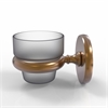 Allied Brass P1064-BBR Prestige Skyline Collection Wall Mounted Votive Candle Holder, Brushed Bronze
