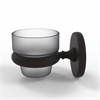 Allied Brass P1064-ORB Prestige Skyline Collection Wall Mounted Votive Candle Holder, Oil Rubbed Bronze