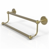 Allied Brass P1072/18-SBR Prestige Skyline Collection 18 Inch Double Towel Bar, Satin Brass