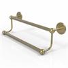 Allied Brass P1072/24-SBR Prestige Skyline Collection 24 Inch Double Towel Bar, Satin Brass