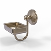 Allied Brass PMC-32-PEW Prestige Monte Carlo Wall Mounted Soap Dish, Antique Pewter