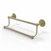 Allied Brass PMC-72/18-SBR Prestige Monte Carlo Collection 18 Inch Double Towel Bar, Satin Brass