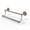 Allied Brass PMC-72/24-PEW Prestige Monte Carlo Collection 24 Inch Double Towel Bar, Antique Pewter