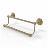 Allied Brass PMC-72/24-SBR Prestige Monte Carlo Collection 24 Inch Double Towel Bar, Satin Brass
