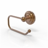 Allied Brass PQN-24E-BBR Prestige Que New Collection European Style Toilet Tissue Holder, Brushed Bronze