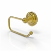 Allied Brass PQN-24E-PB Prestige Que New Collection European Style Toilet Tissue Holder, Polished Brass
