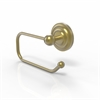 Allied Brass PQN-24E-SBR Prestige Que New Collection European Style Toilet Tissue Holder, Satin Brass