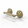 Allied Brass PQN-24-SBR Prestige Que New Collection 2 Post Toilet Tissue Holder, Satin Brass