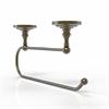 Allied Brass PQN-25EC-ABR Prestige Que-New Under Cabinet Paper Towel Holder, Antique Brass