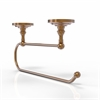 Allied Brass PQN-25EC-BBR Prestige Que-New Under Cabinet Paper Towel Holder, Brushed  Bronze