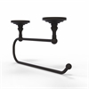 Allied Brass PQN-25EC-ORB Prestige Que-New Under Cabinet Paper Towel Holder, Oil Rubbed Bronze