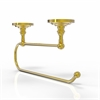 Allied Brass PQN-25EC-UNL Prestige Que-New Under Cabinet Paper Towel Holder, Unlacquered Brass