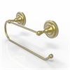 Allied Brass PQN-25EW-SBR Prestige Que New Wall Mounted Paper Towel Holder, Satin Brass