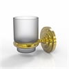 Allied Brass PQN-64-UNL Prestige Que New Collection Wall Mounted Votive Candle Holder, Unlacquered Brass