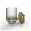 Allied Brass PQN-64-SBR Prestige Que New Collection Wall Mounted Votive Candle Holder, Satin Brass