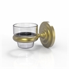Allied Brass PQN-66-SBR Prestige Que new Collection Wall Mounted Tumbler Holder, Satin Brass