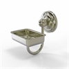 Allied Brass PQN-WG2-PNI Prestige Que New Collection Wall Mounted Soap Dish, Polished Nickel