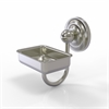 Allied Brass PQN-WG2-SN Prestige Que New Collection Wall Mounted Soap Dish, Satin Nickel