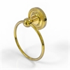 Allied Brass PR-16-PB Prestige Regal Collection Towel Ring, Polished Brass