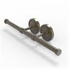 Allied Brass PR-24-2-ABR Prestige Regal Collection Double Roll Toilet Tissue Holder, Antique Brass