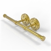 Allied Brass PR-24-2-PB Prestige Regal Collection Double Roll Toilet Tissue Holder, Polished Brass