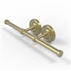 Allied Brass PR-24-2-SBR Prestige Regal Collection Double Roll Toilet Tissue Holder, Satin Brass