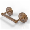 Allied Brass PR-24-BBR Prestige Regal Collection 2 Post Toilet Tissue Holder, Brushed Bronze