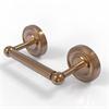 Allied Brass PR-24-BBR Prestige Regal Collection 2 Post Toilet Tissue Holder, Brushed Bronze