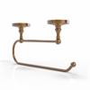 Allied Brass PR-25EC-BBR Prestige Regal Under Cabinet Paper Towel Holder, Brushed Bronze