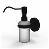 Allied Brass PR-60-BKM Prestige Regal Collection Wall Mounted Soap Dispenser, Matte Black