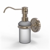 Allied Brass PR-60-PEW Prestige Regal Collection Wall Mounted Soap Dispenser, Antique Pewter