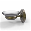 Allied Brass PR-62-ABR Prestige Regal Collection Wall Mounted Soap Dish, Antique Brass